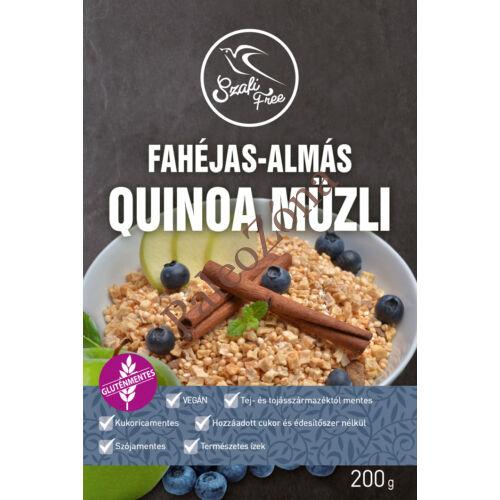Fahéjas-almás quinoa müzli 200g -Szafi Free