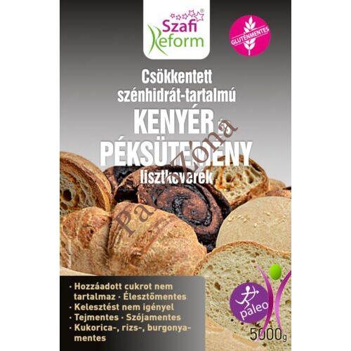 Csökkentett CH-tartalmú PALEO kenyér és péksütemény Lisztkeverék 5kg - Szafi Reform