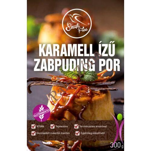 Karamell ízű zabpudingpor (gluténmentes) 300g - Szafi Free