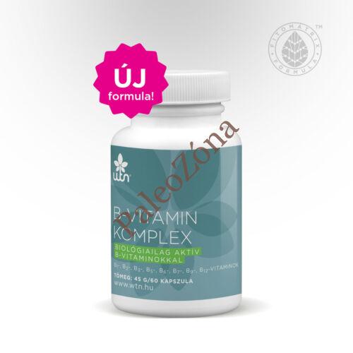 WTN B-vitamin komplex - Új összetétel nagyobb hasznosulás!