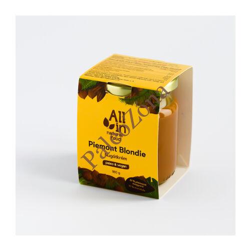 Piemont Blondie nugátkrém 180g - ALL IN natural food