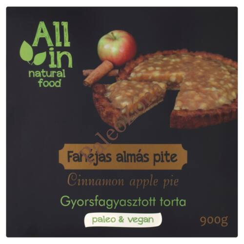 Fagyasztott fahéjas almás pite torta 900g-ALL IN