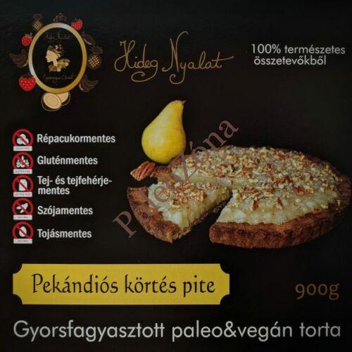 Fagyasztott pekándiós körtés pite torta 900g-ALL IN