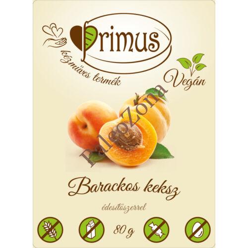 Barackos keksz 80g - Primus