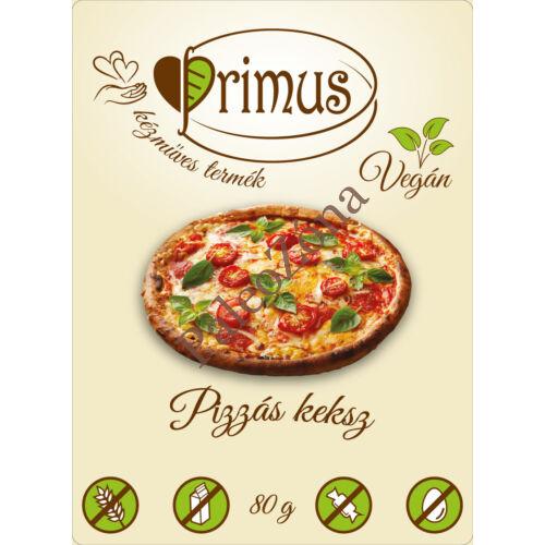 Pizzás keksz 80g - Primus