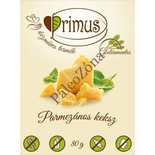 Parmezános keksz 80g- Primus