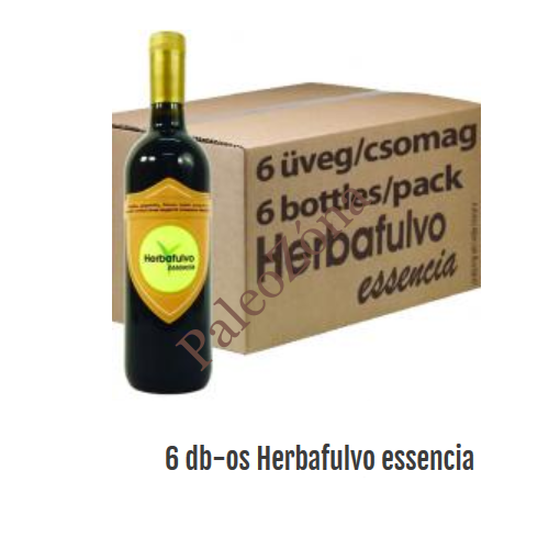 6 üveg Herbafulvo essencia 750ml
