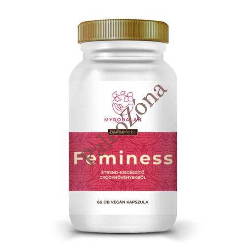 FEMINESS - gyógynövény kapszula a könnyed változókorért 60db - Myrobalan