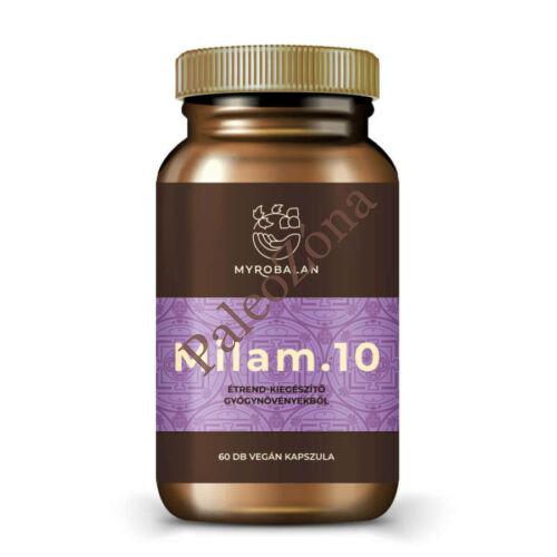 Milam.10 gyógynövény kapszula a pihentető alvásért 60db - Myrobalan