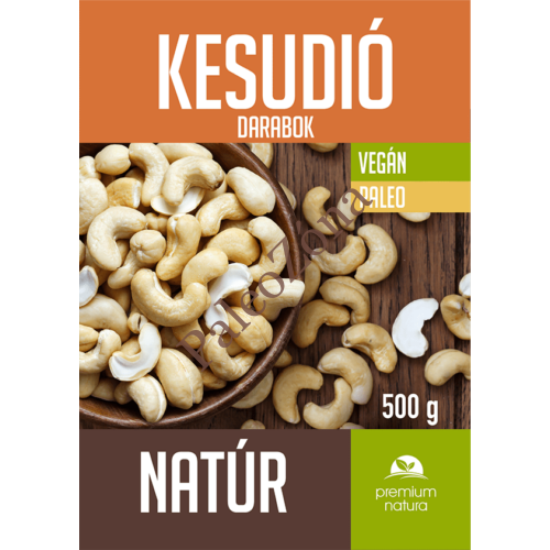 Kesudió darabok natúr 500g - Premium Natura