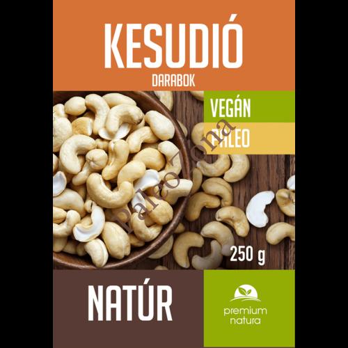 Kesudió darabok natúr 250g - Premium Natura