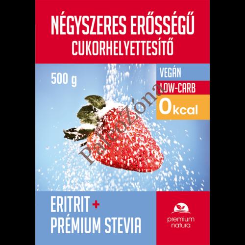 Négyszeres cukorhelyettesítő 500g - Premium Natura
