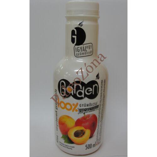 Garden 100%gyümölcslé Sárgabarack-alma 0,5l