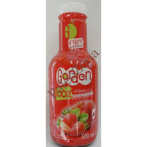 Garden 100%gyümölcslé Eper-Alma 0,5l