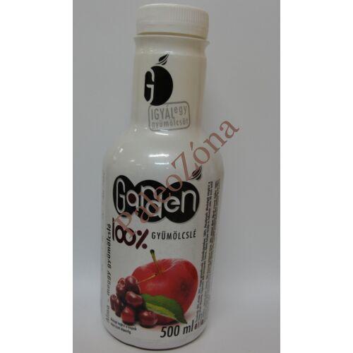 Garden 100%gyümölcslé Meggy-Alma 0,5l