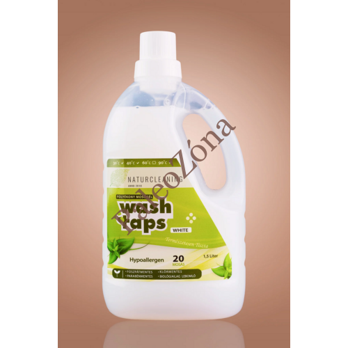 Wash Taps mosógél white 1,5l - Naturcleaning