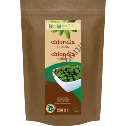 Bio chlorella tabletta Biomenü 250g/500db