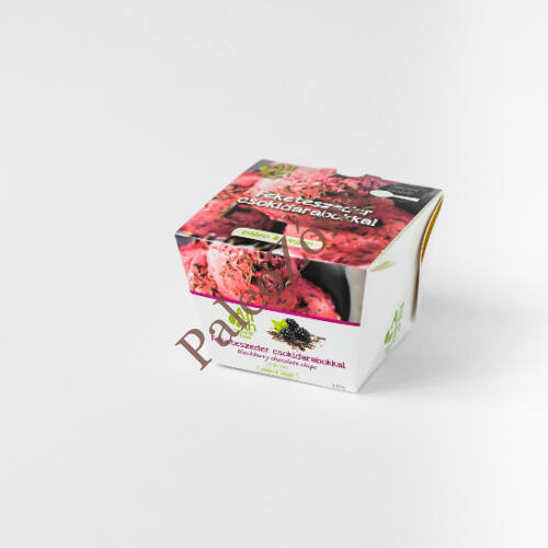 Jégkrém Feketeszeder csokidarabokkal 120g-ALL IN natural food