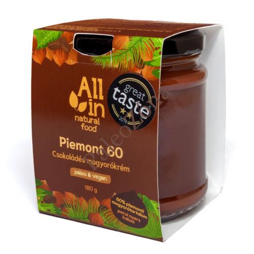 Piemont 60 mogyorókrém 180g -ALL IN