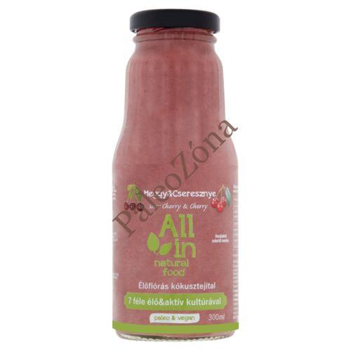 Bio Meggy-Cseresznye kókusztejital  300ml-ALL IN