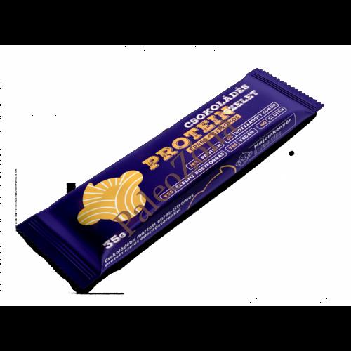 Epres-citromos-csokoládés protein szelet 35g - Majomkenyér