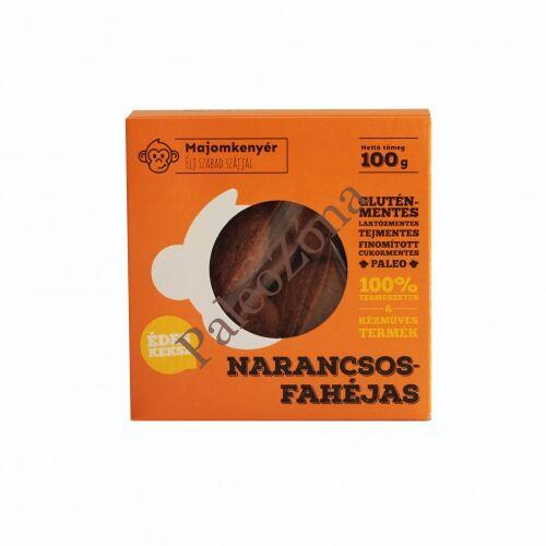Narancsos-fahéjas paleokeksz 100g-Majomkenyér