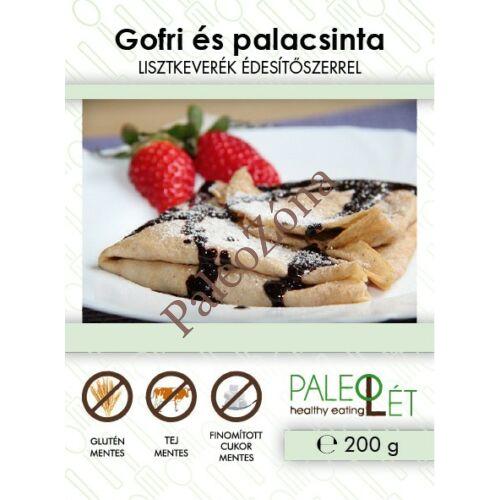 Gofri és palacsinta lisztkeverék 200g - Paleolét