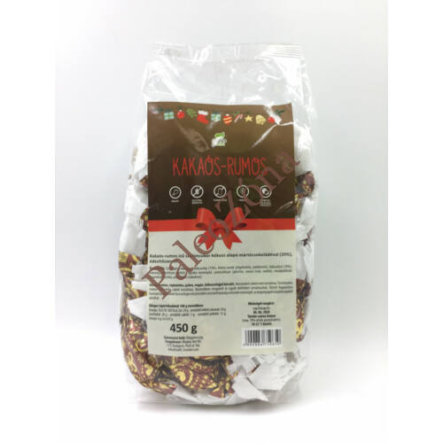 Kakaós-rumos szaloncukor 450g- Health Market