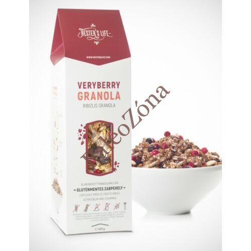 Veryberry Granola ribizlis 320g GM - Hester's Life