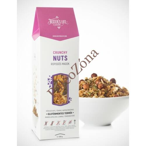 Crunchy Nuts Granola ropogós magok 300g GM - Hester's Life