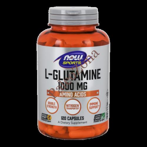 L-Glutamine 1000 mg - 120 Capsules NOW