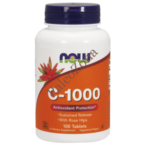 C-1000 Vitamin Sustained release tabl.100db - NOW
