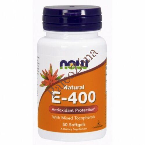 E-400 antioxidant 50 db - NOW