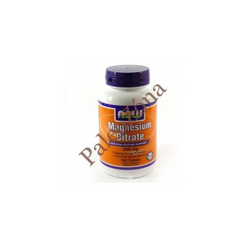 Magnézium citrát 200 mg 100tabl - NOW