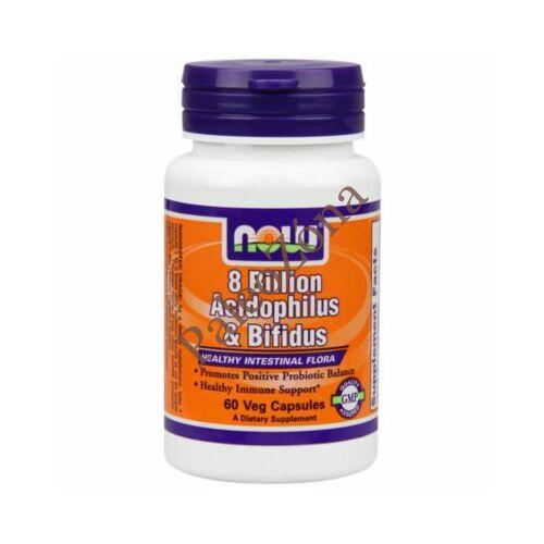 Acidophilus Bifidus probiotikum 60db-NOW