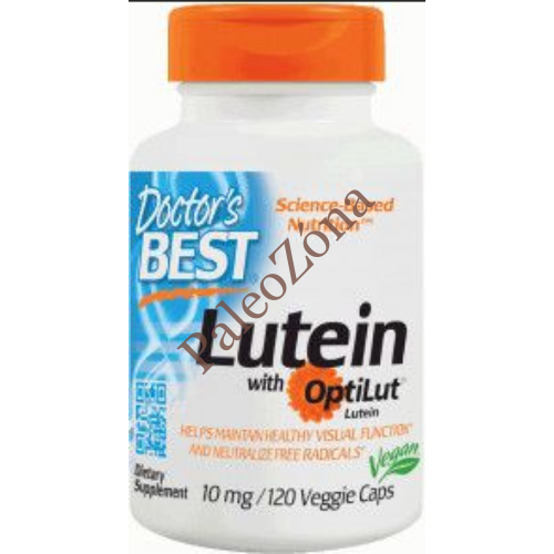 Doctor's Best Lutein 20mg / 120db