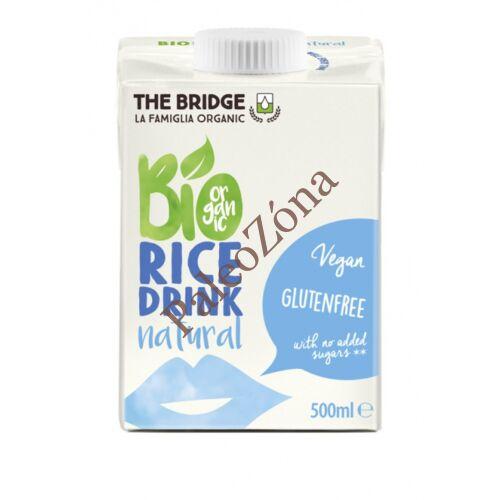 BIO rizsital natur 500ml-The Bridge