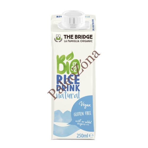 BIO Rizsital natur 250ml-The Bridge