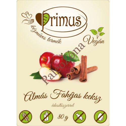 Fahéjas almás keksz 80g - Primus